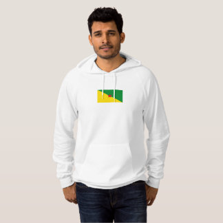Mens Flag of French Guiana Hoodie