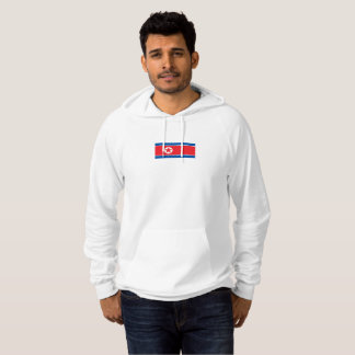 Mens Flag of North Korea Hoodie