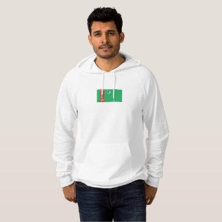 Mens Flag of Turkmenistan Hoodie