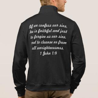Men's Fleece Zip Jogger Jacket