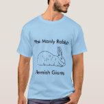 Mens Flemish Giant Rabbit T-Shirt