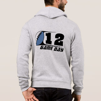 Men's Football Full-Zip Hoodie