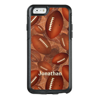 Men's football graphics pattern OtterBox iPhone 6/6s case