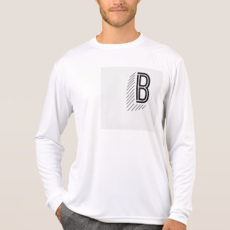 Men's Front and Back Long Sleeve T-Shirt