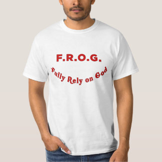 Mens Fully Rely On God Tshirt