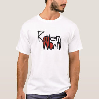 mens fun Graphic T-Shirtrt  rotten world T-Shirt