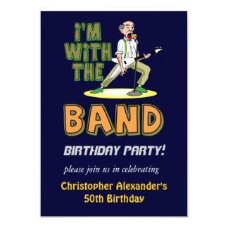 Mens Funny Birthday Party Invitations