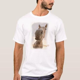 Men's funny horse tshirt