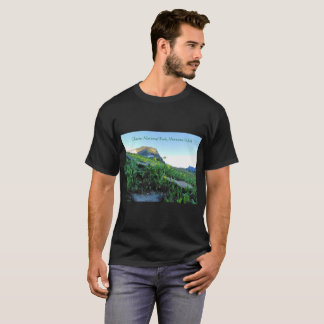 Men's Glacier Mountain Meadows Black T-Shirt