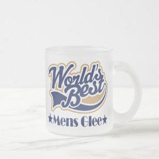 Mens Glee Gift Frosted Glass Mug