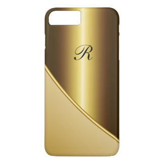 Men's Gold Business iPhone 7 Plus Case