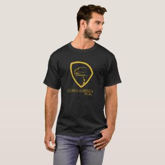 Mens Gold Corsa Logo T-Shirt