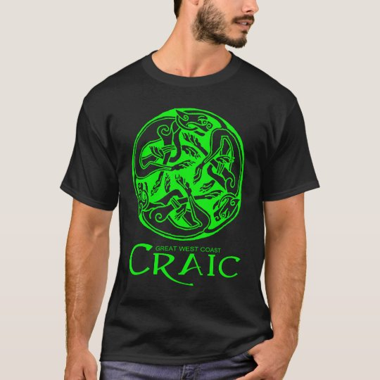 Men's Great West Coast Craic tshirt