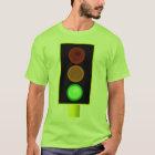 Mens Green Traffic Light Shirt
