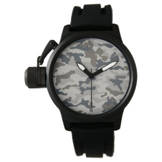 Men's Grey Camo Wristwatch