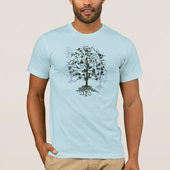 Men's Guitar Tree T-shirt