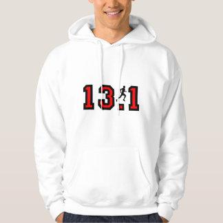 Mens half marathon hooded pullovers