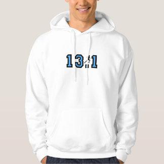 Mens half marathon hoodie