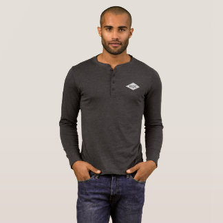 Men's Henley Long Sleeved Shirt