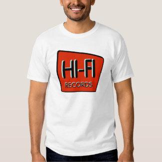 "Men's ""HI-FI"" Retro Red Design T-Shirt"