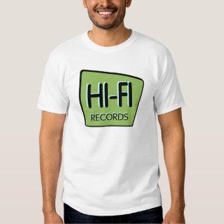"Mens ""HI-FI"" Vintage Green Sign, T-Shirt"