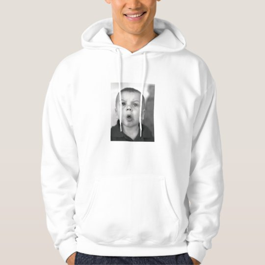 Men's Hooded Sweatshirt With Custom Image