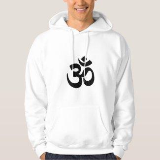 Men's Hooded Sweatshirt With Om Symbol