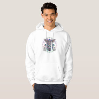 Men's Hoodie Spirit Owl Design