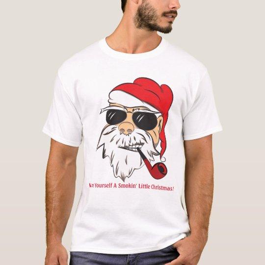 Men's Humourous Santa T-Shirt