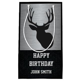 Men's Hunting Themed Deer Birthday Gift Bag