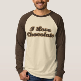 Men's I Love Chocolate Shirt
