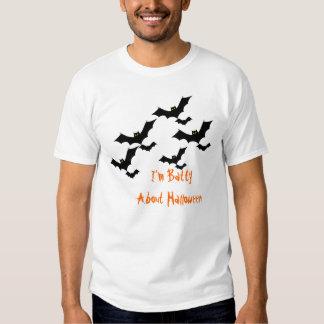 "Mens ""I'm Batty About Halloween"" Tee"