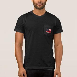 Men's Indivisible Flag Bella+Canvas Pocket T-Shirt