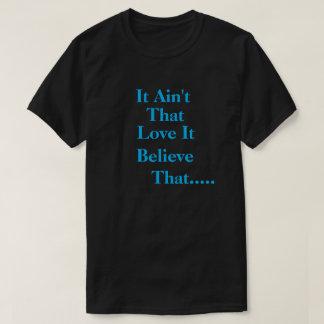 Men's It Aint That blk/sky blue T-Shirt