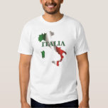 Men's Italia Map Shirt