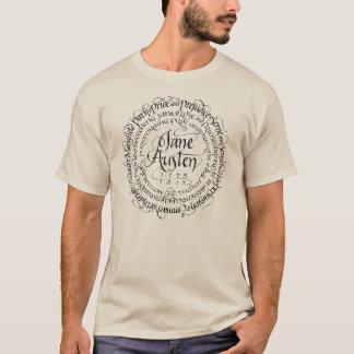 Men's Jane Austen Period Drama T-shirt Light Color