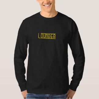 Men's L/S basic Lounger Tee  black/yellow