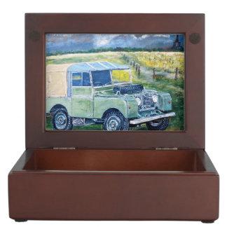 Mens & Ladies Land Rovers Keepsake Box
