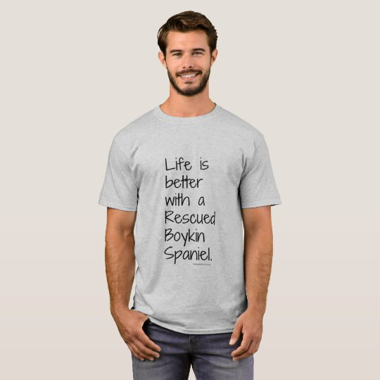 Men's Life is Better Rescue Tee