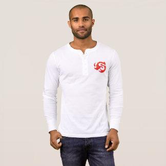 Men's logo Henley T-Shirt