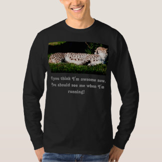 Men's Long sleeve Cheetah Running T-Shirt