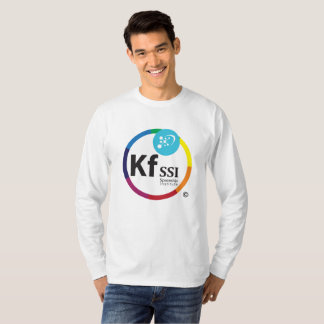 Mens Long Sleeve Cotton T-Shirt with KFSSI Logo
