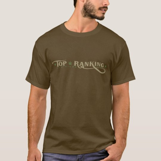 Men's Long Sleeve T - Logo Natural/Khaki T-Shirt