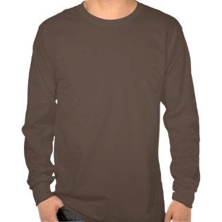 Men's Long Sleeve T - Logo Natural/Khaki Tshirts