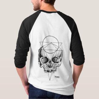 Men's Macabre Skull Baseball Jersey T-Shirt
