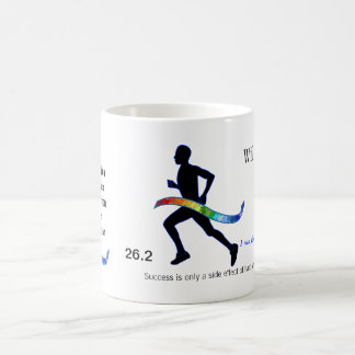 Men's Marathon with Puzzle Ribbon Coffee Mug