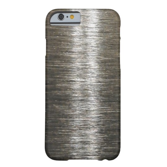 Men's Masculine Metallic Look Barely There iPhone 6