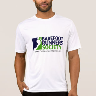 mens microfiber logo+url T-Shirt