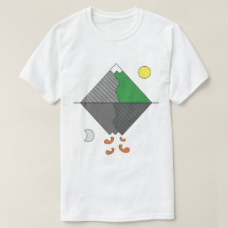 Mens Minimalist Mountain Tee