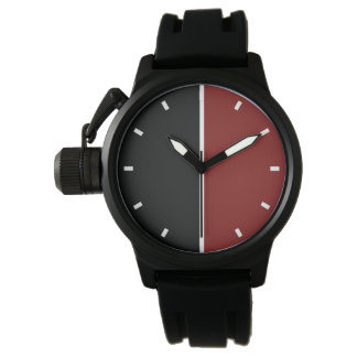 Men's Modern Geometric Design Watch